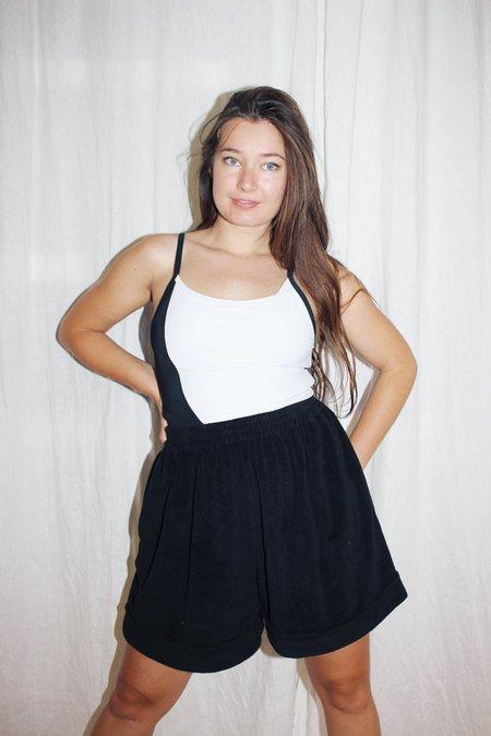 Toit Volant Oversized Sporty Shorts - Onyx
