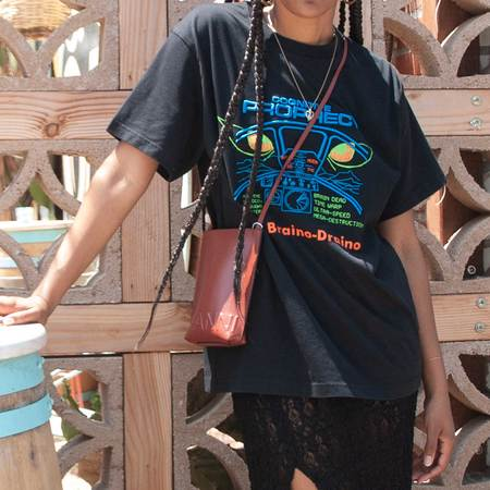Ganni Small Crossbody Bag - Madder Brown