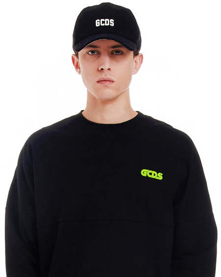 GCDS Embroidery Hat - Black