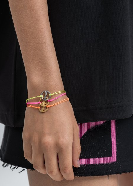 we11done Mix Make A Wish Bracelet - black