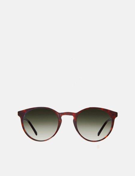 YMC x Bridges & Brows Albert Sunglasses - Crystal Tortoise/Graduated Green