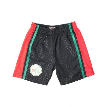 Mitchell & Ness Neapolitan Swingman Shorts - Sixers