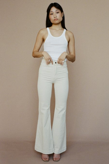 ROLLA'S Eastcoast Flare Jeans – Vanilla Cord