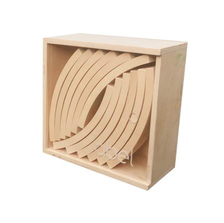 Kids Abel Wood Large Blocks - Natural