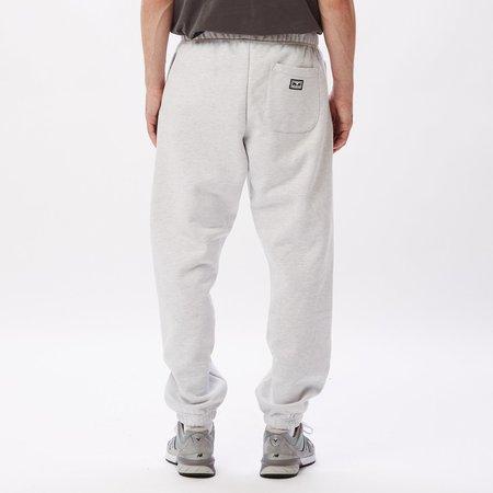 Obey All Eyez II Fleece Pant - Ash Grey