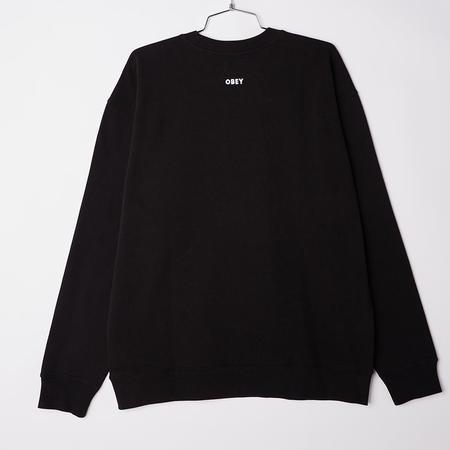 Obey Lips Crewneck Sweatshirt