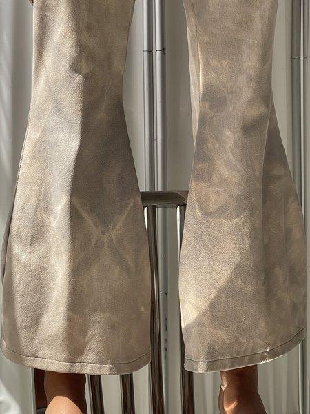 Vintage Handmade Tie Dye Flare Pants