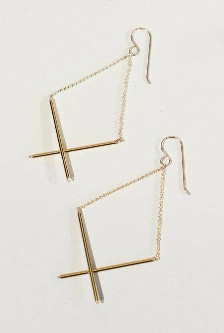Grace & Flux X Earrings
