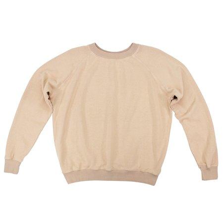 Jungmaven Bonfire Raglan Sweatshirt - Dusty Pink