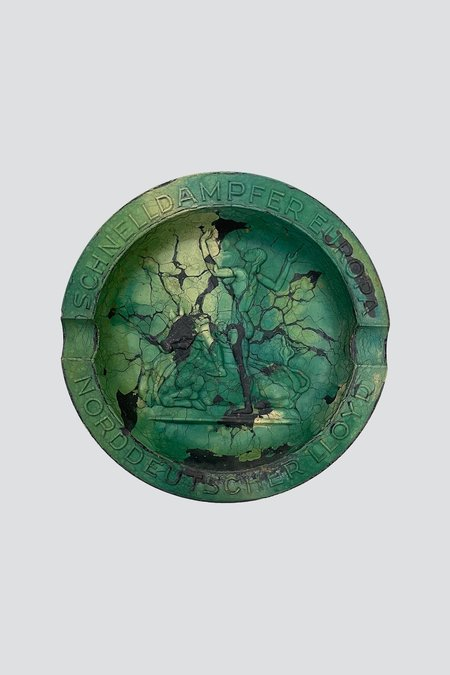 Concrete Cat Marbled Europa - Green