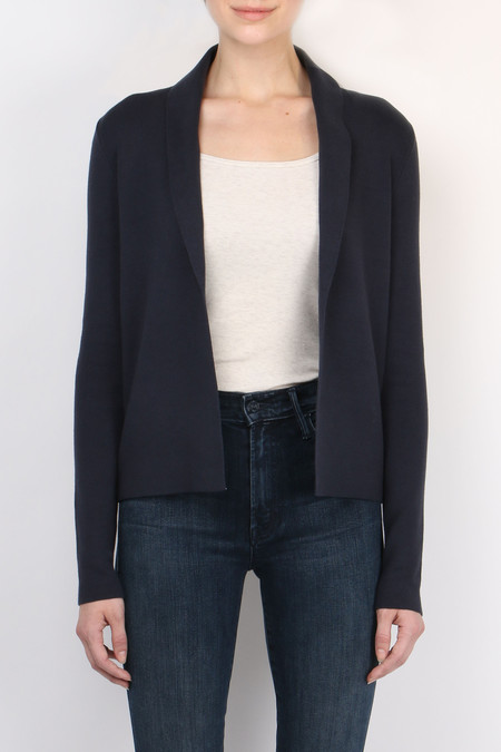 Cathrine Hammel Cropped Shawl Cardigan