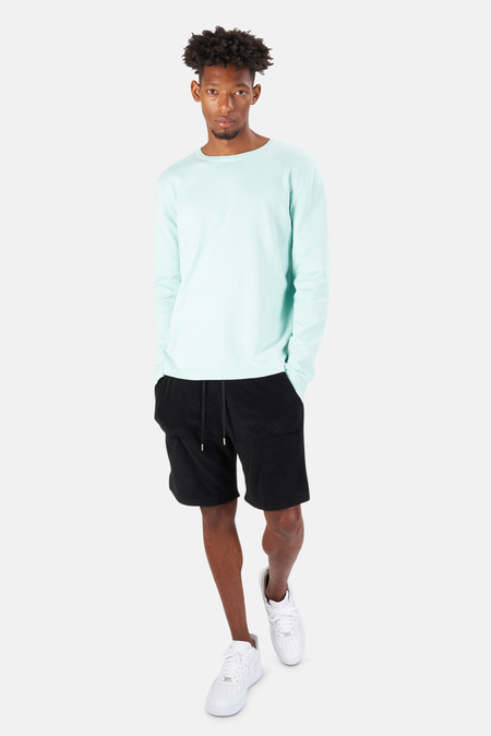 Blue&Cream Reade Long Sleeve T-Shirt - Mint Opaline