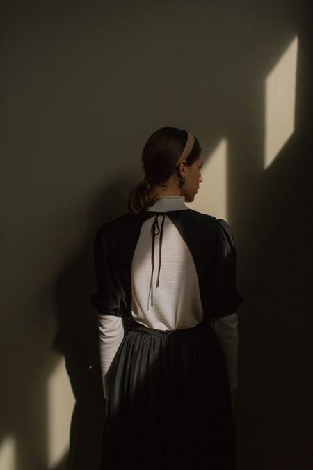 Mina Balance Dress - Black