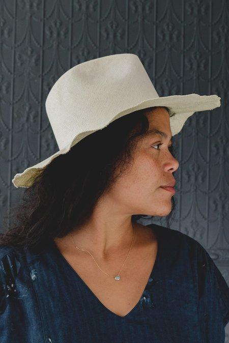 Reinhard Plank Norma Raw Hat - natural white