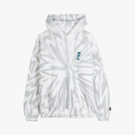 Neutron Inc. Liberaiders Tie Dye Pullover Hoodie - Gray