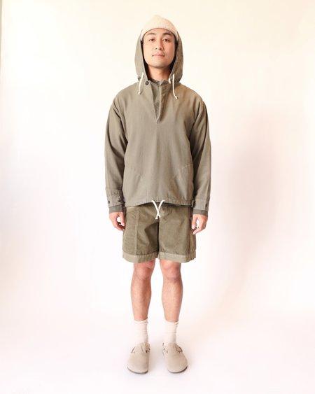 SEEKER Anorak sweater - Army