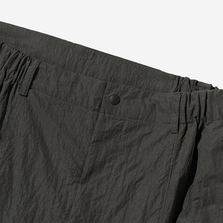 Uniform Bridge Utility Pocket Shorts - Dark Khaki Olive