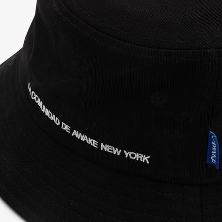 Awake NY La Comunidad Bucket Hat - Black