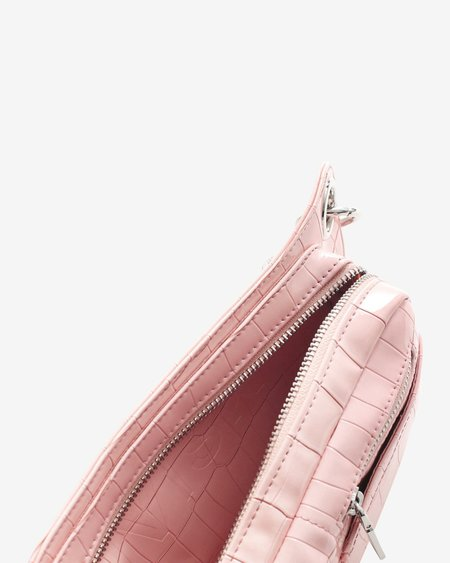Hvisk Brillay Croco Bag - Soft Pink