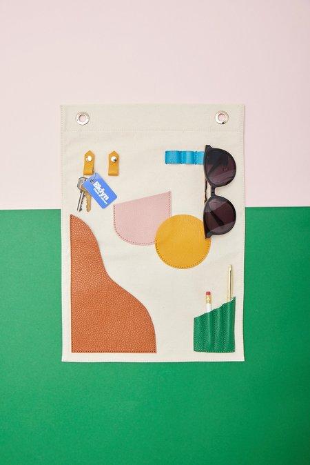 OAD Small Wall Hanging Pocket Art - Colors