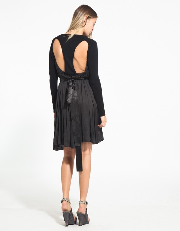 MALAM- OPEN BACK DRESS