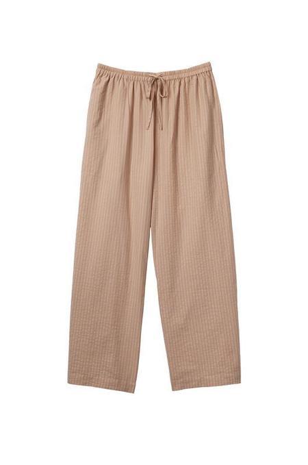 In Soft Focus Soft Focus Lounge Pant - Tan Stripe