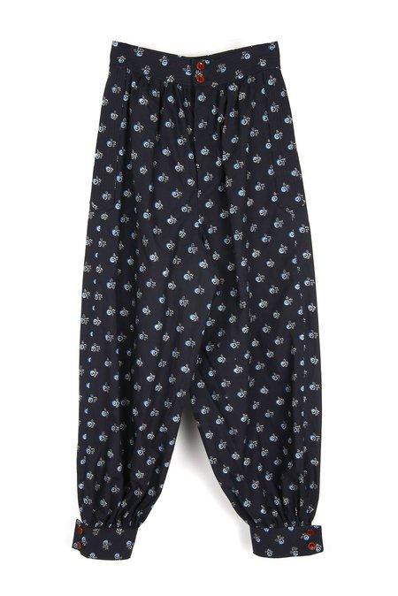 Caron Callahan Cairo Pant - Navy Dot Floral
