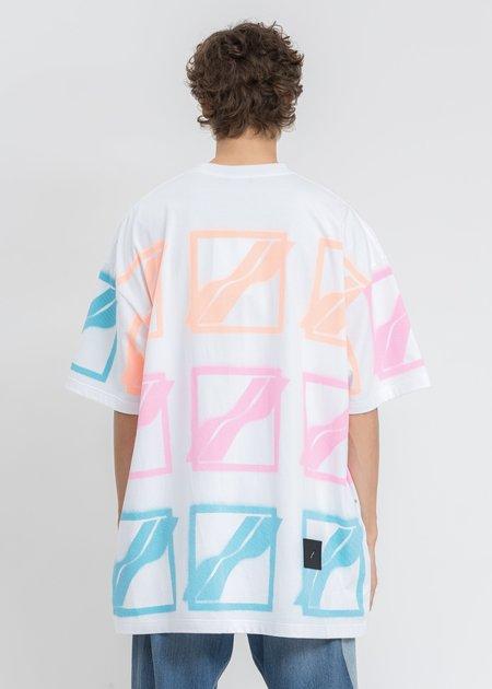 We11done Multi Logo T-Shirt - White
