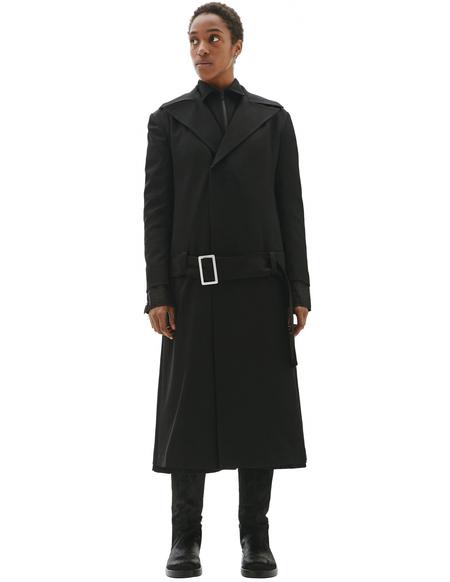 Yohji Yamamoto Belted Coat
