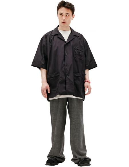 Balenciaga Black Oversize Shirt