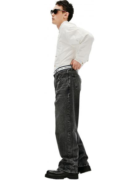 Balenciaga Cotton Jeans - Grey