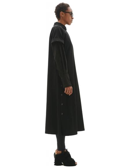 Yohji Yamamoto Short Sleeve Dress