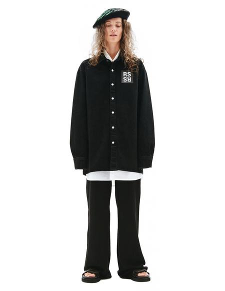 Raf Simons Denim Shirt - BLACK