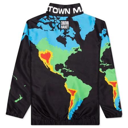 Chinatown Market Zip Jacket - Black