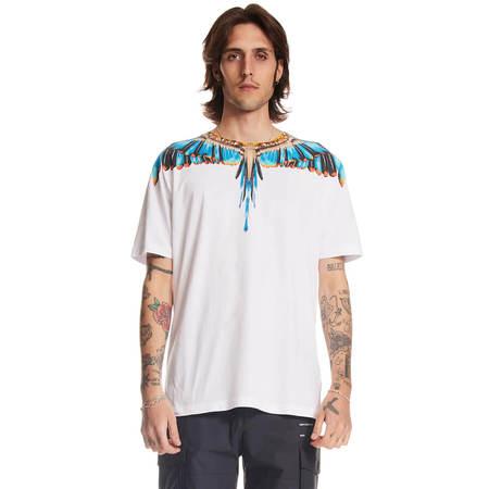 MARCELO BURLON Grizzly Wings t-shirt - White