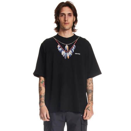 Marcelo Burlon Double Chain Feathers T-shirt