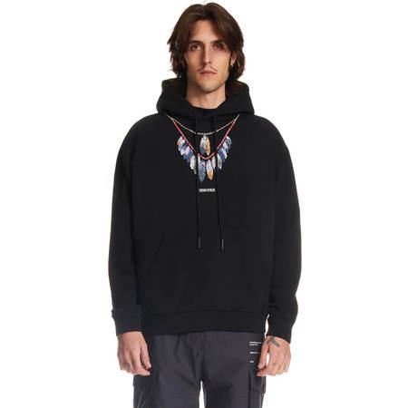 MARCELO BURLON DCF hoodie - Black
