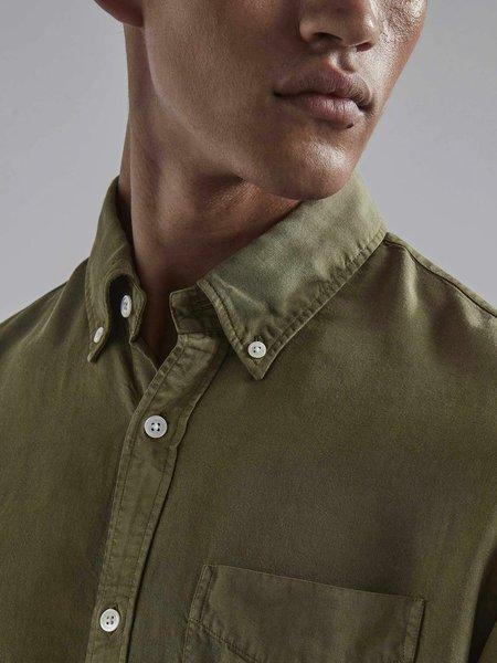 NN07 Levon Shirt - Leaf Green