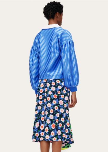 Stine Goya Yousef Jersey Top - blue
