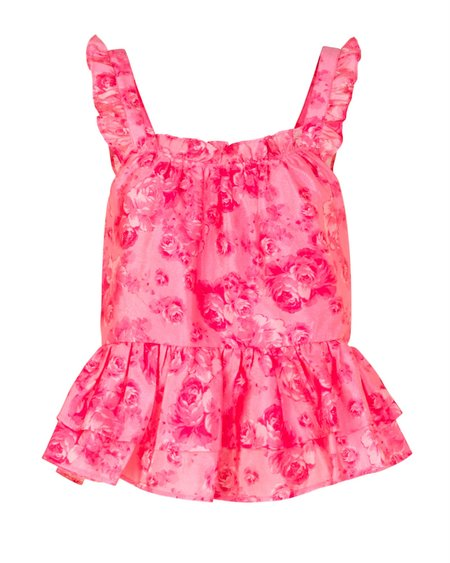 Cras Akia Top - Pink Rose