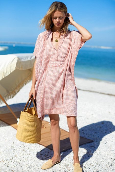 Emerson Fry Short Caftan - Muted Clay