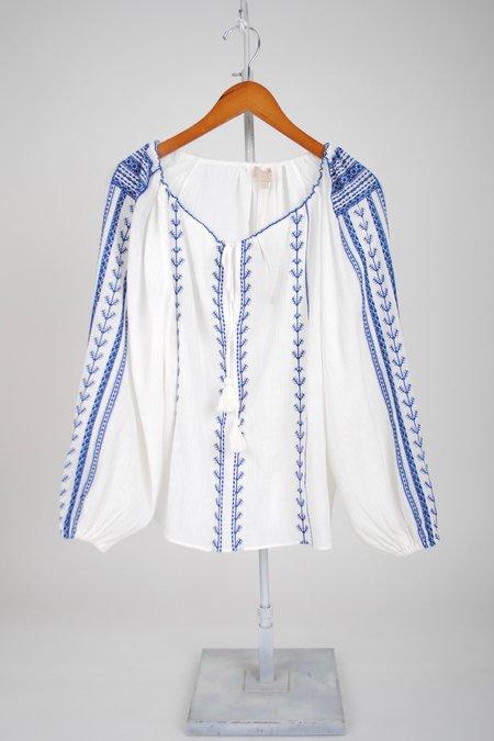 Vanessa Bruno Vivoli Blouse - Blanc/Bleu