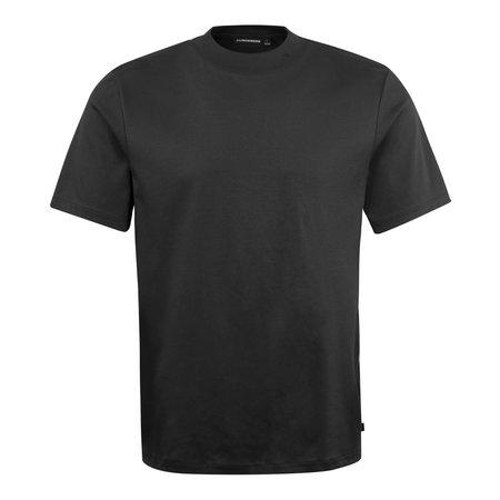 J Lindeberg Ace Mock Neck T-Shirt - Black