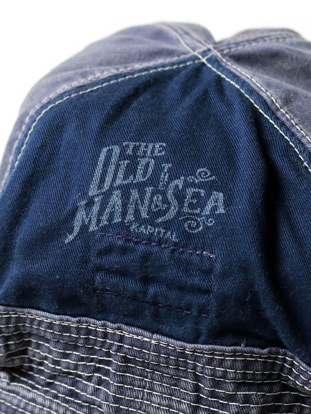 Kapital Chino The Old Man And The Sea Soft Crush Remake Hat - Navy