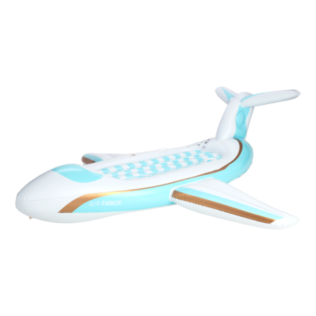 Funboy airplane float - White/Blue