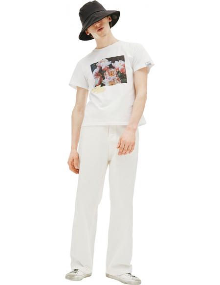 Golden Goose Printed T-shirt - white