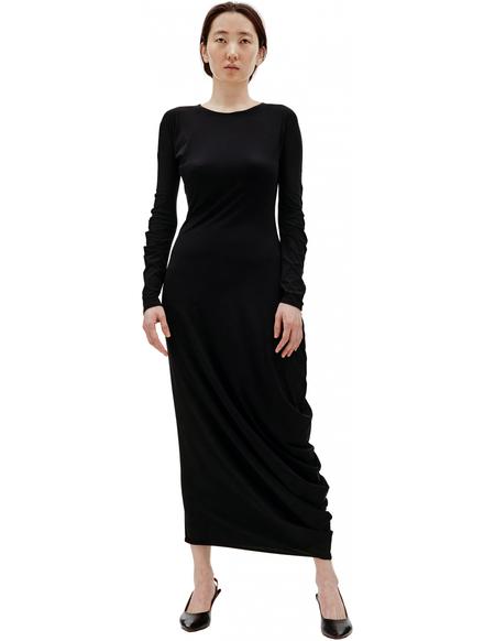 Maison Margiela Asymmetrcic Dress - BLACK