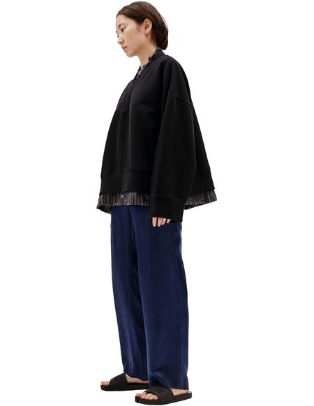 Maison Margiela V-Neck Sweatshirt - Black