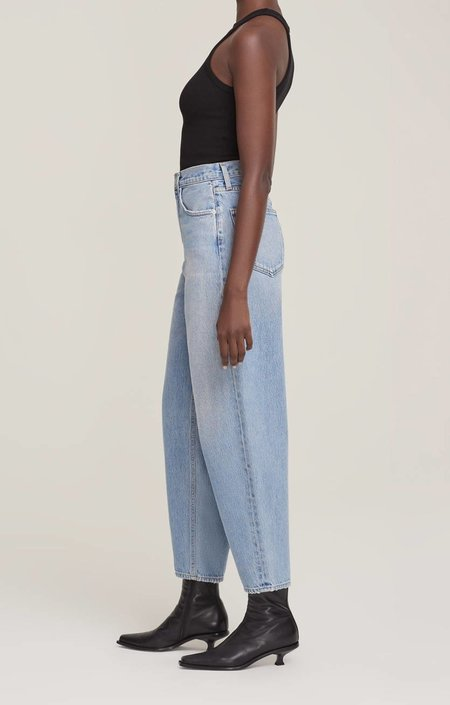 Agolde Balloon Ultra High Rise Curved Taper Jeans - Revival