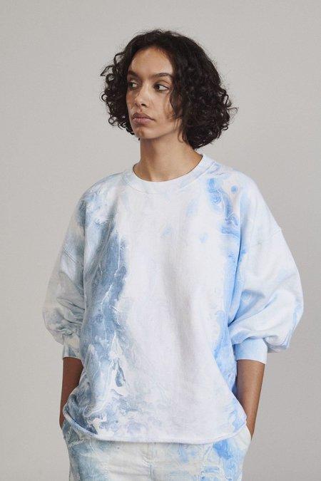 Rachel Comey Fond Sweatshirt - Ink Marbled Dye